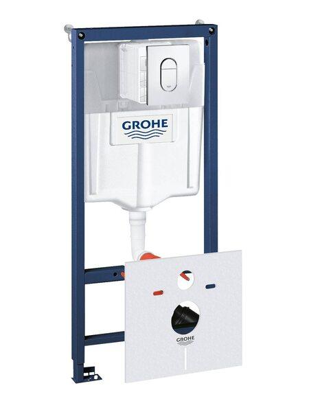 Система инсталляции  GROHE Rapid SL с панелью смыва Arena Cosmopolitan  (38929000)
