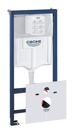 Система инсталляции GROHE Rapid SL с комплектом для монтажа перед стеной (38539001)