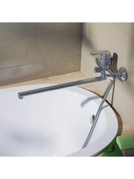 Смеситель для ванны Ray с длинным изливом, RAYSBL2i10WA,Iddis