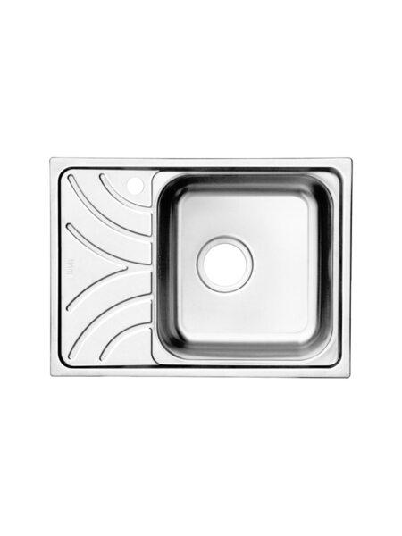 Мойка для кухни нержавеющая сталь, полированная, чаша справа Arro Iddis ARR60PRi77