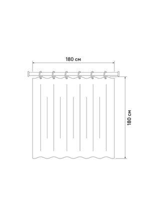 Штора для ванной комнаты Basic Iddis B66P118i11
