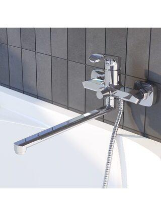 Смеситель для ванны с длинным изливом Joker Iddis JOKSB00i10WA
