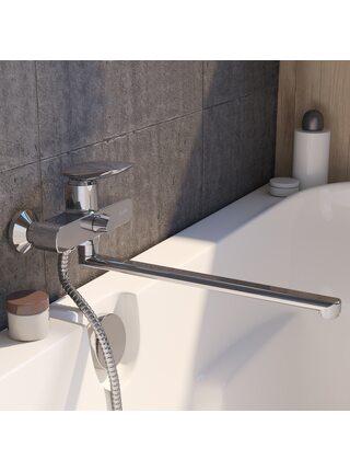 Смеситель для ванны с длинным изливом Stone Iddis STOSB00i10WA
