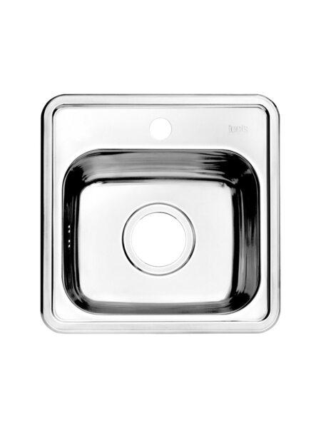 Мойка для кухни нержавеющая сталь, полированная Strit Iddis STR38P0i77