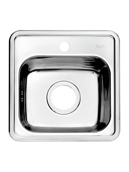 """Мойка для кухни нержавеющая сталь, """"шелк"""" Strit Iddis STR38S0i77"""