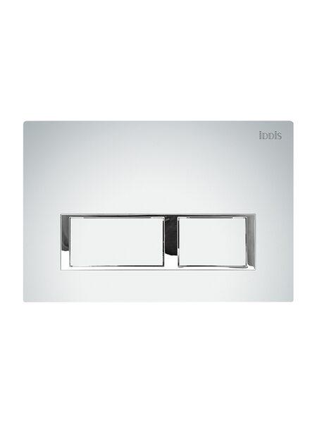 Клавиша смыва, универсальная, матовый хром Unifix Iddis UNI60M0i77