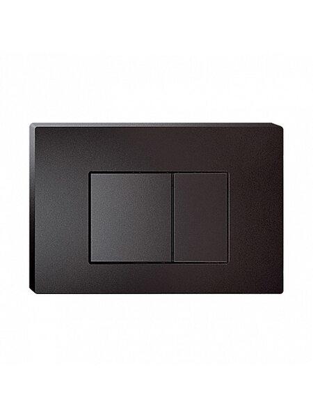 Клавиша смыва, универсальная, матовый черный Unifix Iddis UNI31MBi77