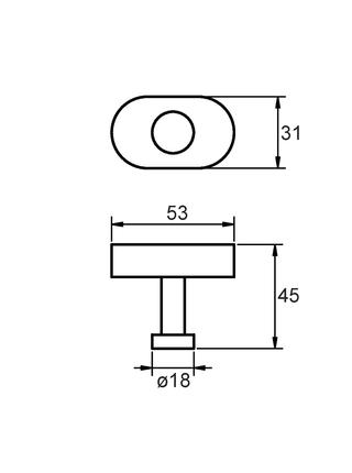 Крючок одинарный, сплав металлов, Solomon, Milardo, SOLSM10M41