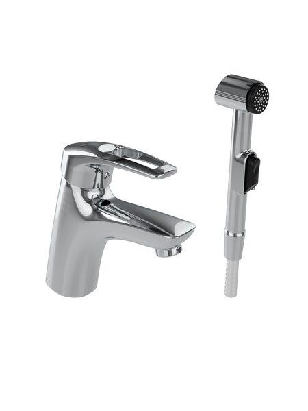 Смеситель для умывальника с гигиеническим душем Carlow Plus IDDIS CRPSB00i08