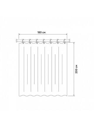 Штора для ванной комнаты Basic Iddis B54P218i11