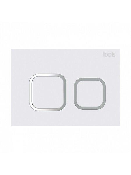 Клавиша смыва, универсальная, матовый белый Unifix Iddis UNI40MWi77