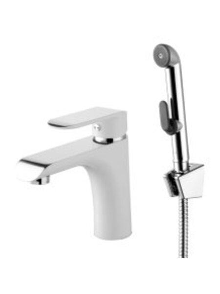 Смеситель для умывальника с гигиеническим душем Calipso IDDIS CALSB00i08