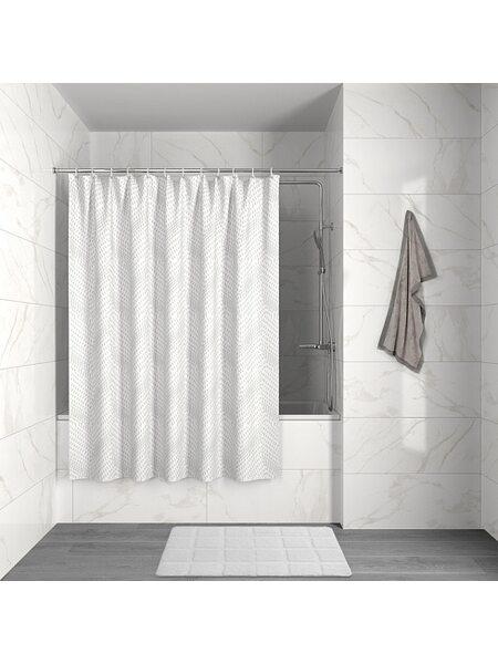 Штора для ванной комнаты Decor Iddis D04P118i11