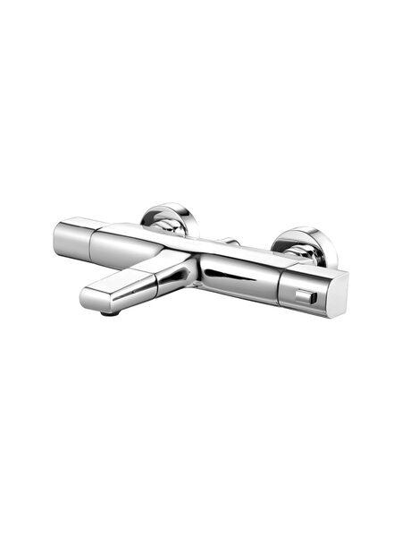 Универсальный смеситель для ванны с термостатом Uniterm IDDIS UNISB02i74WA