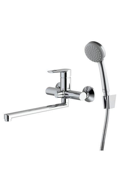 Смеситель для ванны с длинным изливом Runo IDDIS RUNSBL2i10