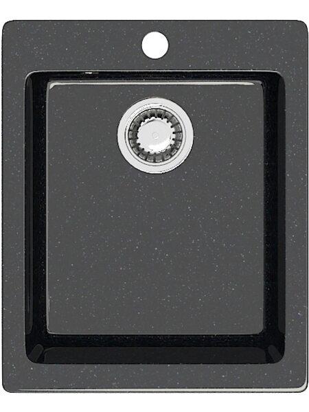 Мойка прямоугольная (495х425х195) Линди Z8Q4(черный)