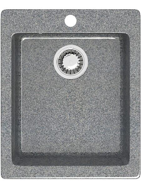 Мойка прямоугольная (495х425х195) Линди Z8Q8 (темно серый)