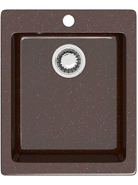 Мойка прямоугольная (495х425х195) Линди Z8Q16(шоколад)