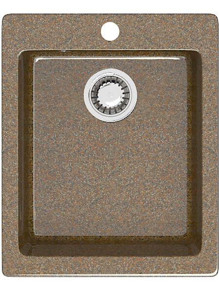 Мойка прямоугольная (495х425х195) Линди Z8Q9 (терракот)