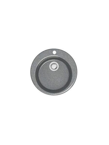 Мойка глянцевая Marrbaxx Стайл Z50 тёмно-серый Q8 (467*467)
