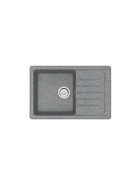 Мойка матовая Marrbaxx № 16 тёмно-серый Q8 (740*490)