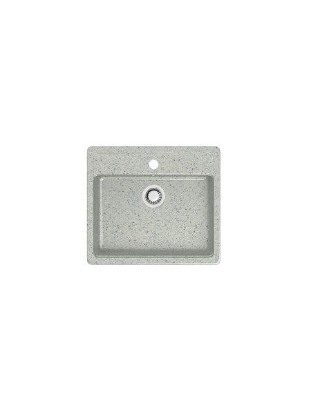 Мойка глянцевая Marrbaxx Джекки Z9 светло-серый Q10 (570*505)