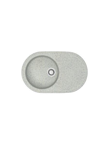 Мойка матовая Marrbaxx № 11 светло-серый Q10 (720*455)