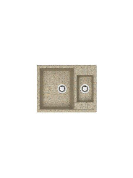 Мойка матовая Marrbaxx № 190 песочный Q5 (612*505)
