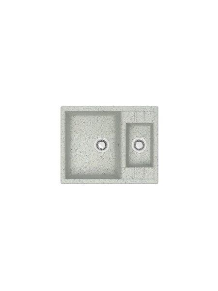 Мойка матовая Marrbaxx № 190 светло-серый Q10 (612*505)