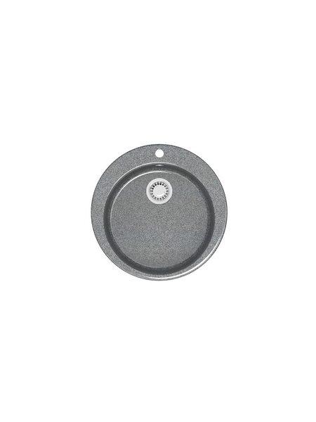 Мойка глянцевая Marrbaxx Браун Z510 тёмно-серый Q8 (507*507)