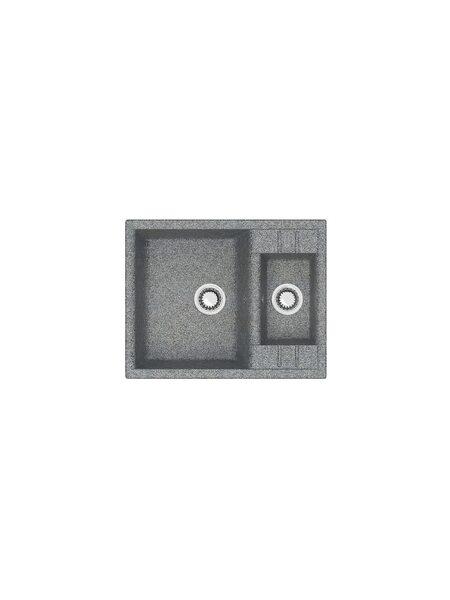 Мойка матовая Marrbaxx № 190 тёмно-серый Q8 (612*505)