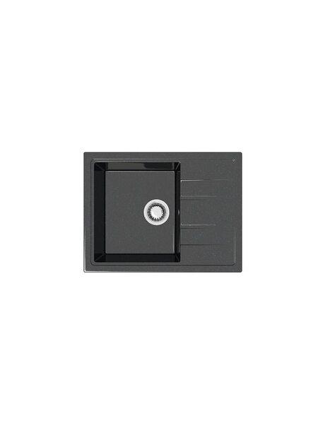 Мойка глянцевая Marrbaxx Анастасия Z150 чёрный Q4 (575*470)