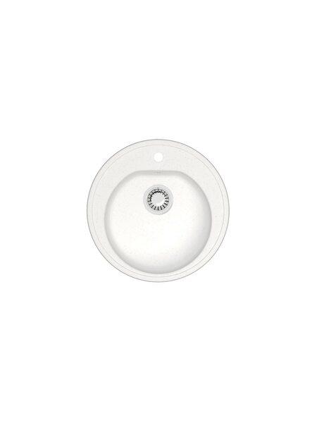 Мойка матовая Marrbaxx № 3 белый лед Q1 (510*510)