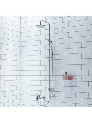 Душевой гарнитур с верхней лейкой Shower Set Milardo 3703F24M76