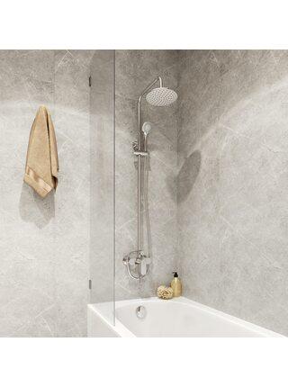 Смеситель с верхним душем и изливом Rosco Milardo ROSSB1FM06