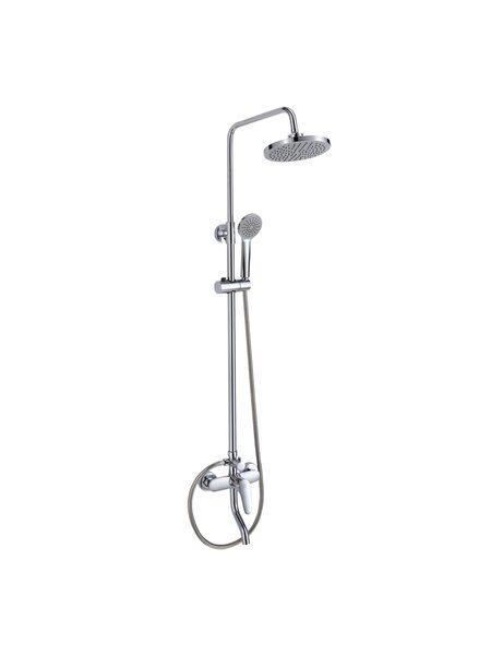 Смеситель с верхним душем и изливом Simp Milardo SIMSB1FM06