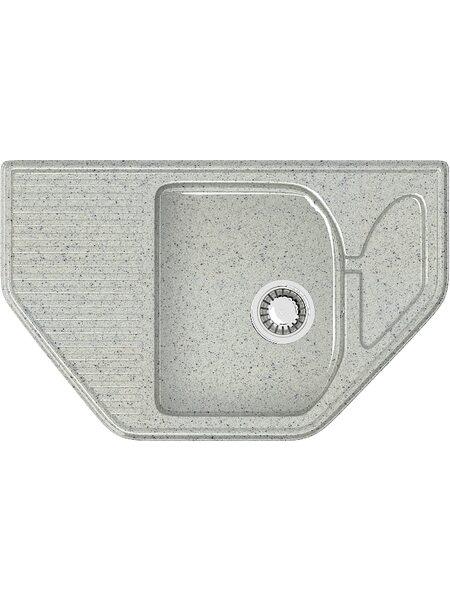 Мойка угловая (495х785х175) Рики Z22Q10(светло серый)