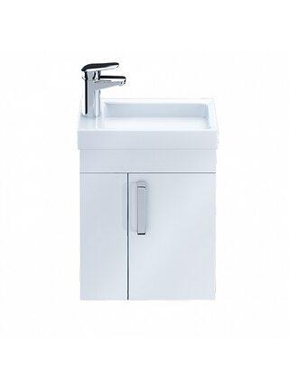 Тумба для ванной комнаты, подвесная, белая, 40 см, Torr, ID TOR40W1i95