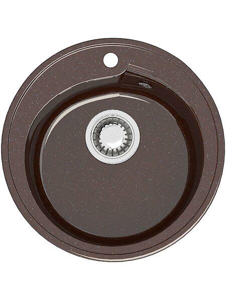 Мойка круглая (435х200) Венди Z4Q16 ( шоколад)