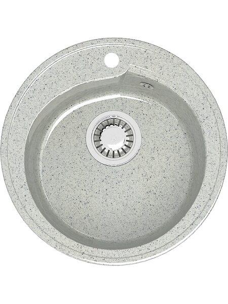 Мойка круглая (435х200) Венди Z4Q10 ( светло серый)