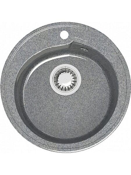 Мойка круглая (435х200) Венди Z4Q8 (темно серый)