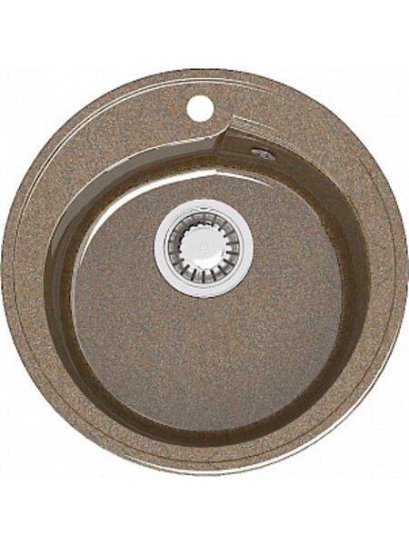 Мойка круглая (435х200) Венди Z4Q9 (терракот)