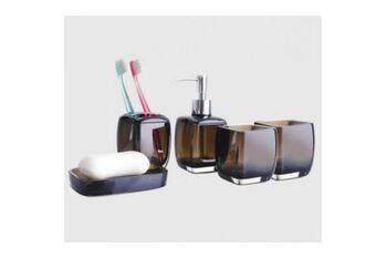 F301-2 Набор аксессуаров для ванной комнаты. коричневый