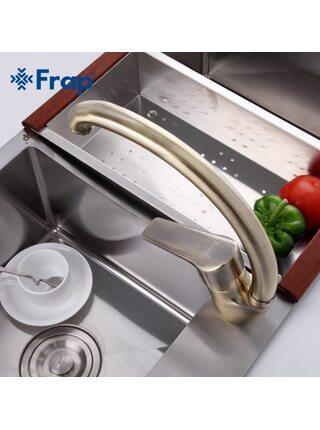 F4130-4 Смеситель для кухни, бронза